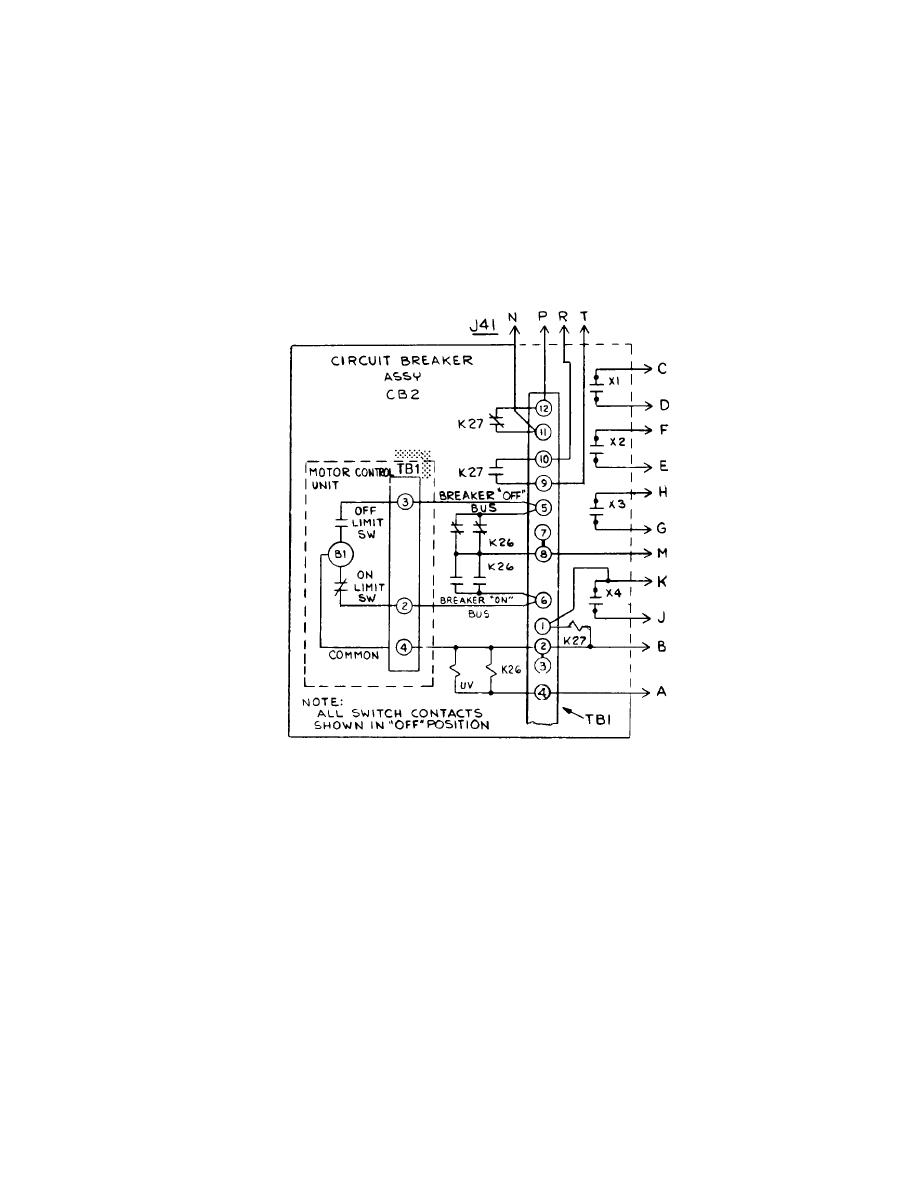 Figure 6 37e Motor Operated Circuit Breaker Assembly Cb2 Schematic Wiring