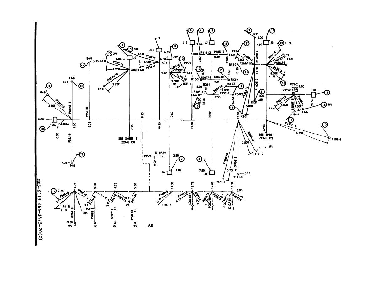 TM 5 6115 465 340268im figure 5 20 special relay assembly wiring harness, drawing no 72 wire harness drawing at fashall.co