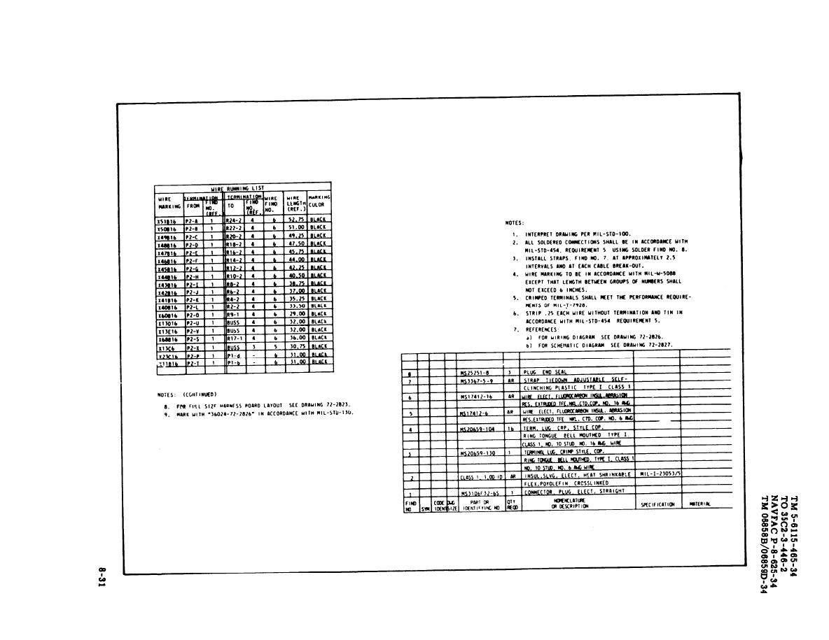Figure 8 18 Load Bank Wiring Harness Sheet 1 Of 2