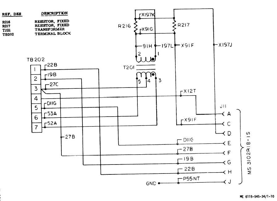 Figure 1-10. Wiring Schematic Diagram, Voltage Regulator