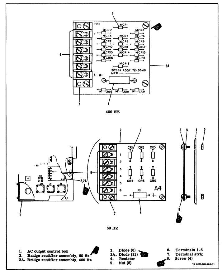 Figure 6 11 Bridge Rectifier Assembly A 4