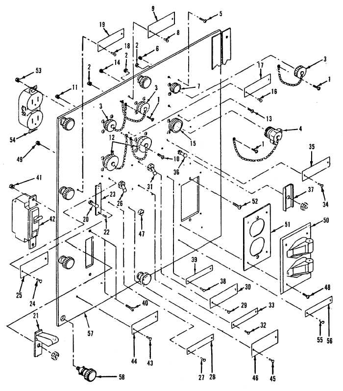 Figure 4 18 Ac Dc Control Box Assembly Component Panel Assembly