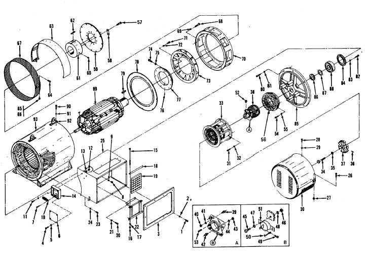 Figure 11 3 Generator Assembly Exploded View