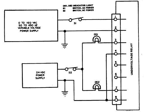 Figure 5 10 undervoltage relay k111 test setup undervoltage relay k111 test setup repeat the test with the input connected to 2 and 4 and then again between 3 and 4 by rotating switch asfbconference2016 Gallery