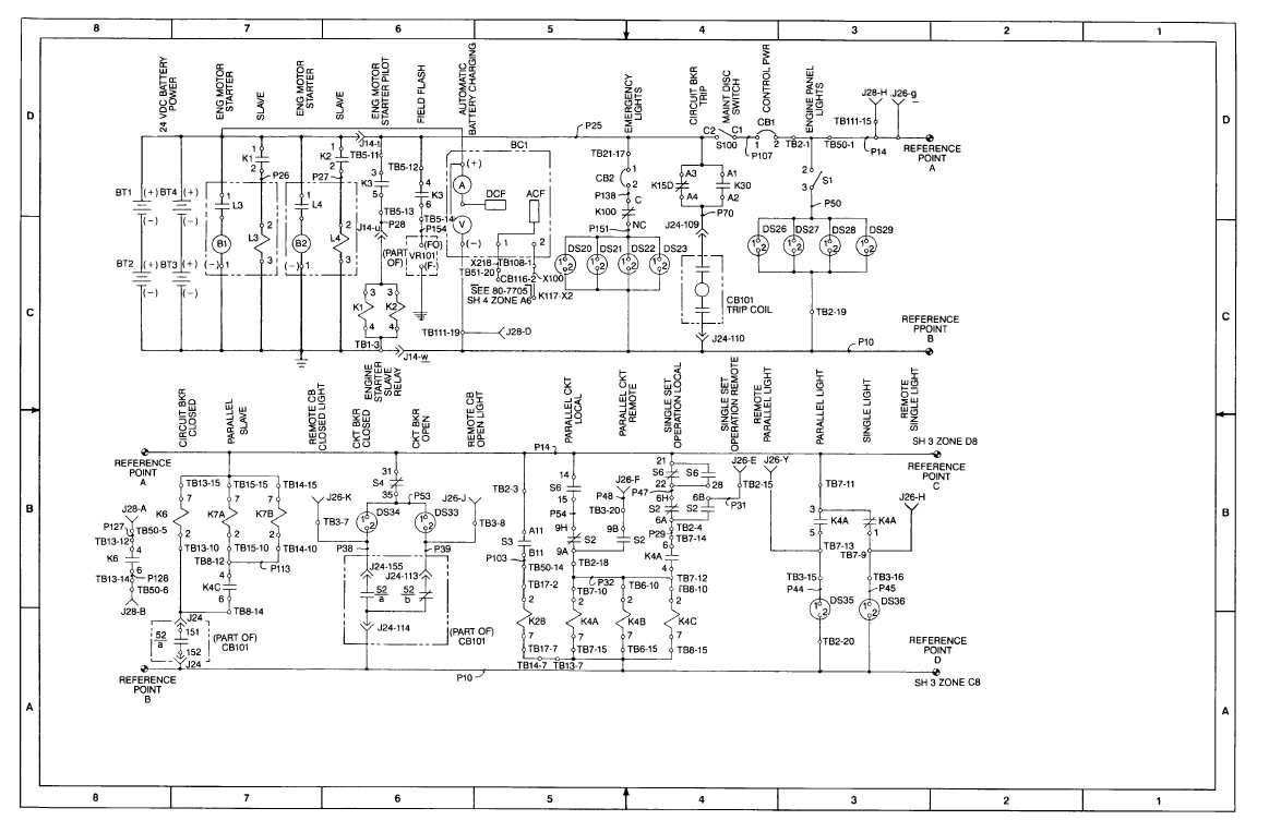 fo-1  dc schematic diagram  sheet 2 of 8