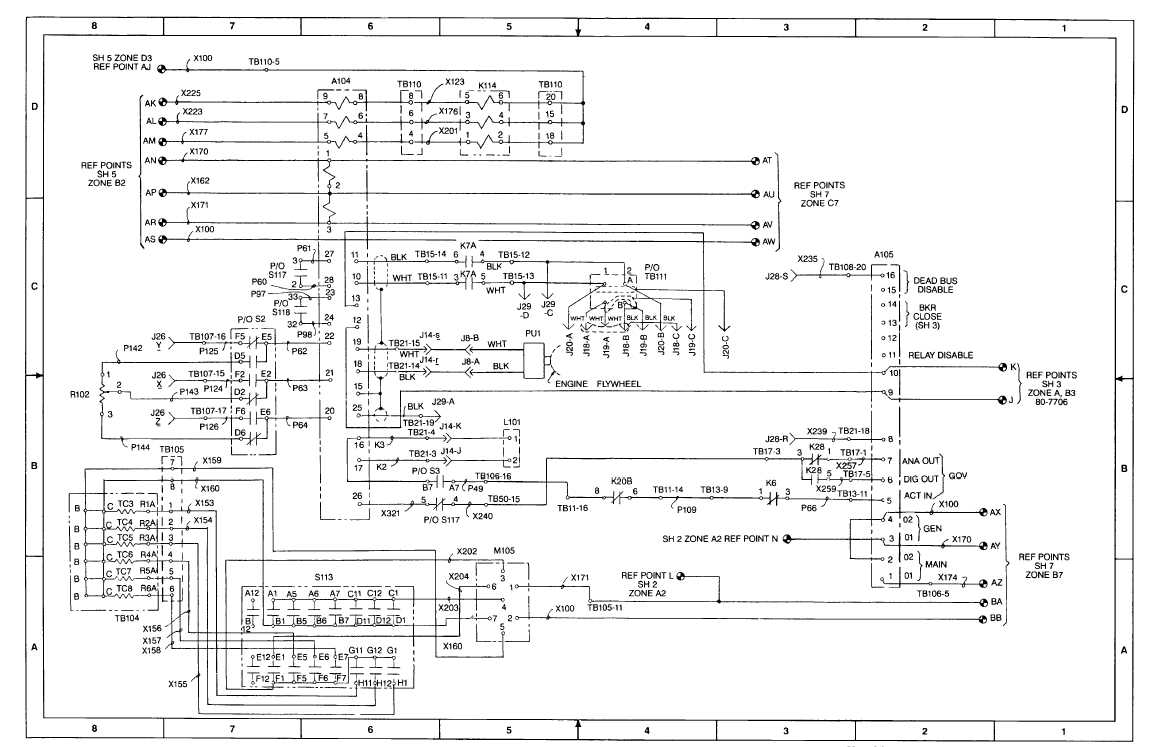 fo-2  ac schematic diagram  sheet 6 of 8