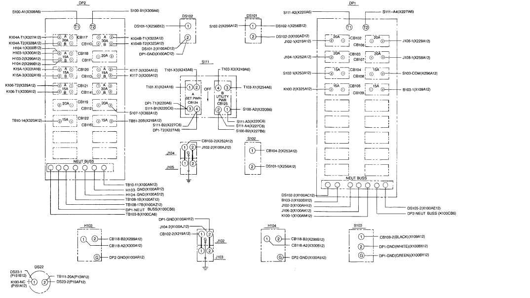 TM 9 6115 604 12_503_1 fo 6 control room wiring diagram (sheet 1 of 2) wiring a room at bayanpartner.co