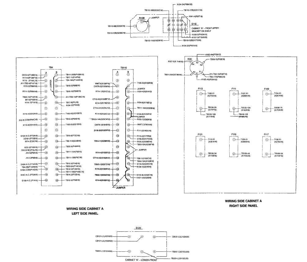 rtd wiring diagram 3 wire images cabinet a wiring diagram sheet 1 of 4 fo 45 fo 46 blank