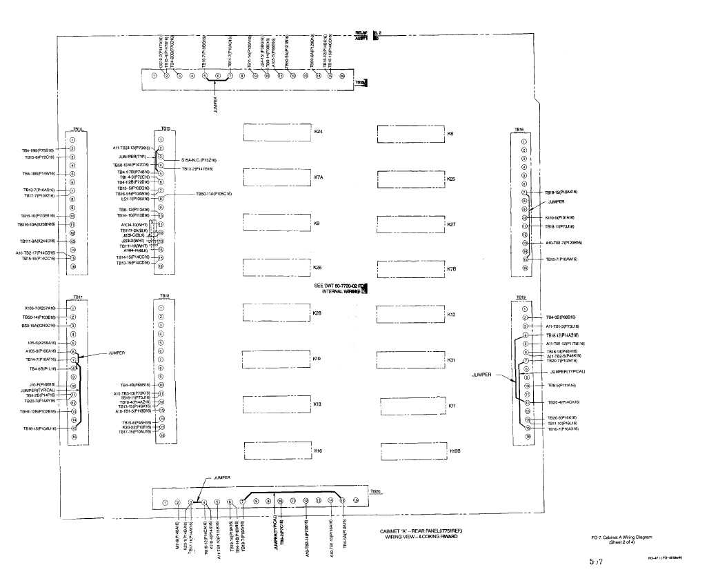 fo 7 cabinet b wiring diagram sheet 2 of 4