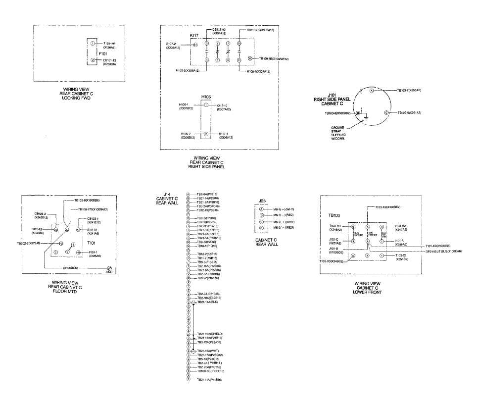 208 3 phase wiring diagram images cabinet c wiring diagram sheet 5 of 5 fo 71 fo 72 blank