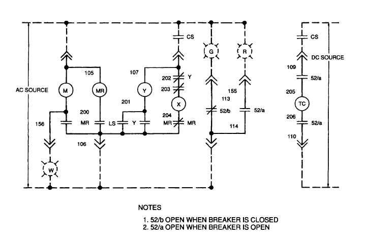 Figure 5-14. Load Circuit Breaker CB101, Rear View (Sheet ...