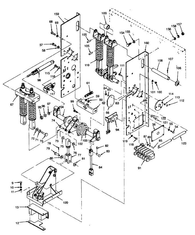 Figure 5 19 Load Circuit Breaker Cb101 Exploded View Sheet 2 Of 6