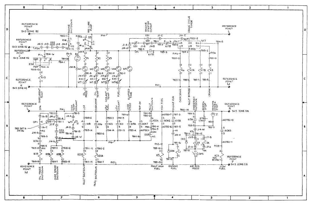 fo-1  dc schematic diagram  sheet 4 of 8