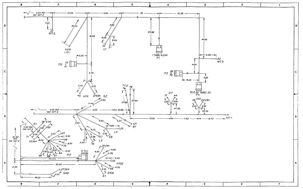 wire harness design with Tm 9 6115 604 34 607 on 2005 Yamaha Dt125x Wiring Diagram together with 2003 Gmc Sierra Headlight Wiring Diagram together with Home Security Camera Wiring Diagram additionally Cable Harness Drawing Autocad furthermore 65 Mustang Steering Column Diagram.
