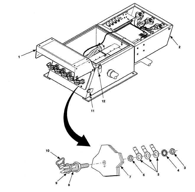 figure 4-17  switch box load terminal maintenance  sheet 1 of 2